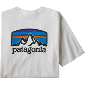 Patagonia Fitz Roy Horizons Camiseta Responsable Hombre, white